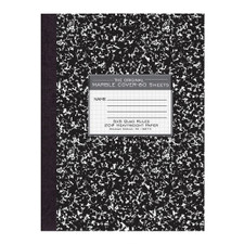 Roaring Spring Black Quad Rule Heavyweight Composition Book