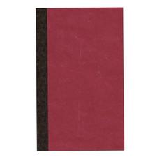 Roaring Spring Red Pressboard Narrow Ruled Pocket Notebook