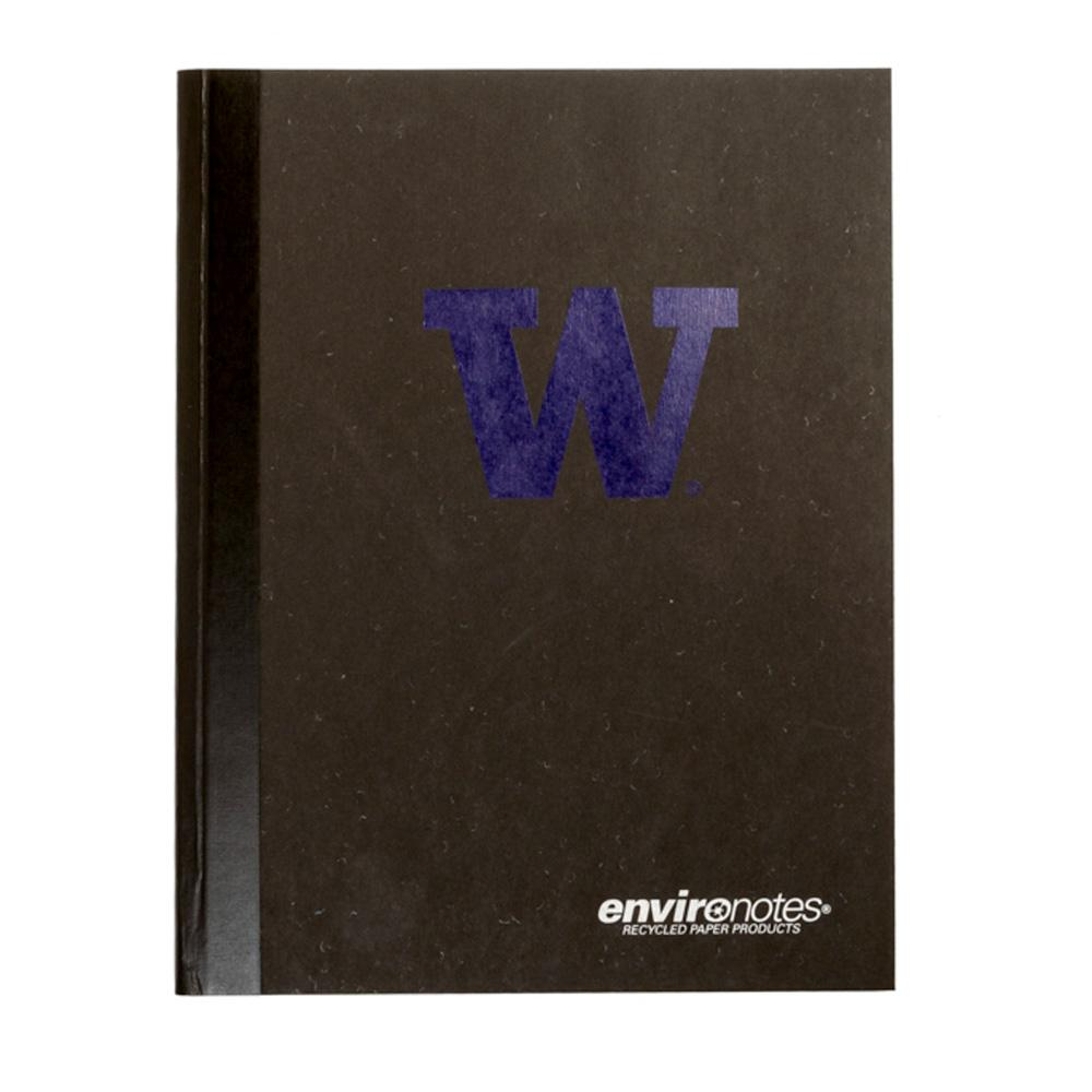 Roaring Spring University of Washington W Black College Ruled Composition Notebook