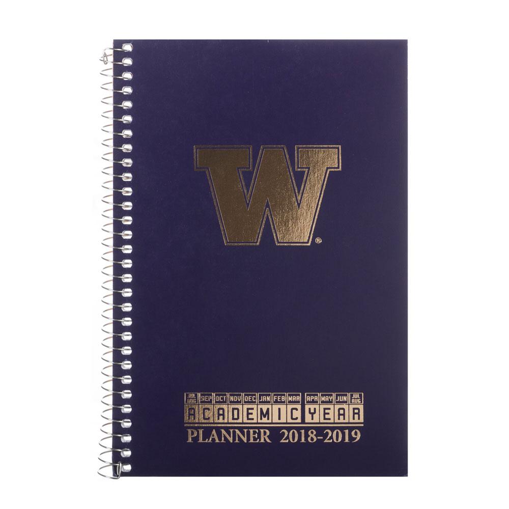 Roaring Springs 2018-2019 UW Academic Weekly Planner Purple