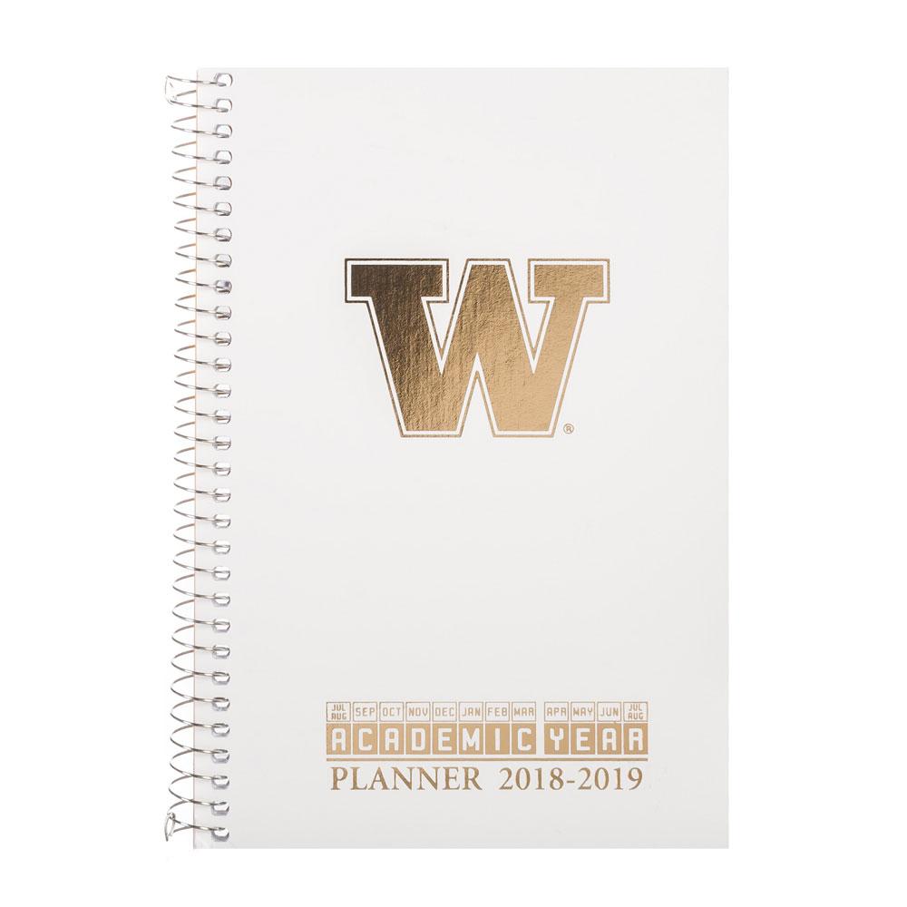 Roaring Springs 2018-2019 UW Academic Weekly Planner White