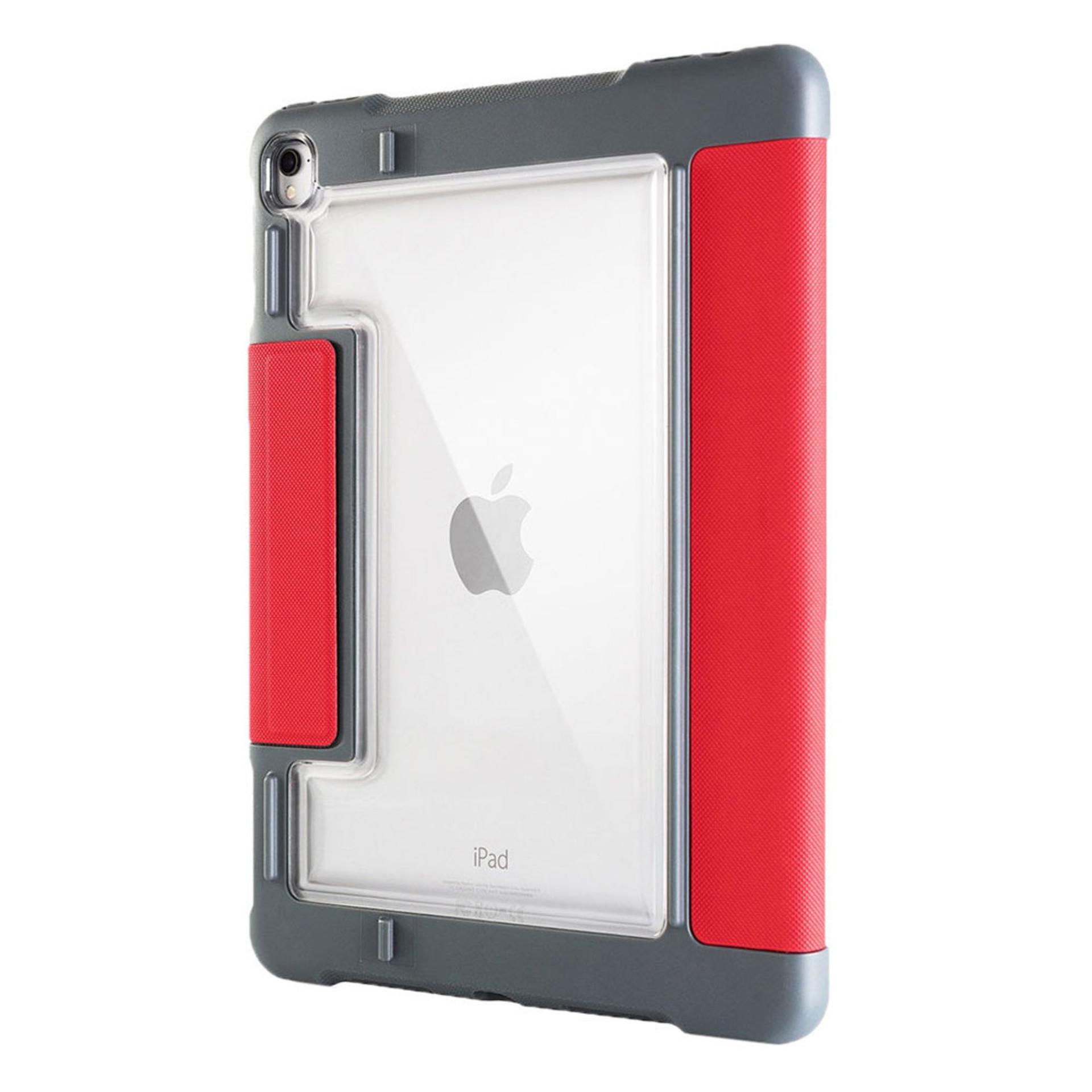 """STM Dux Plus iPad Pro 10.5"""" Case Red"""