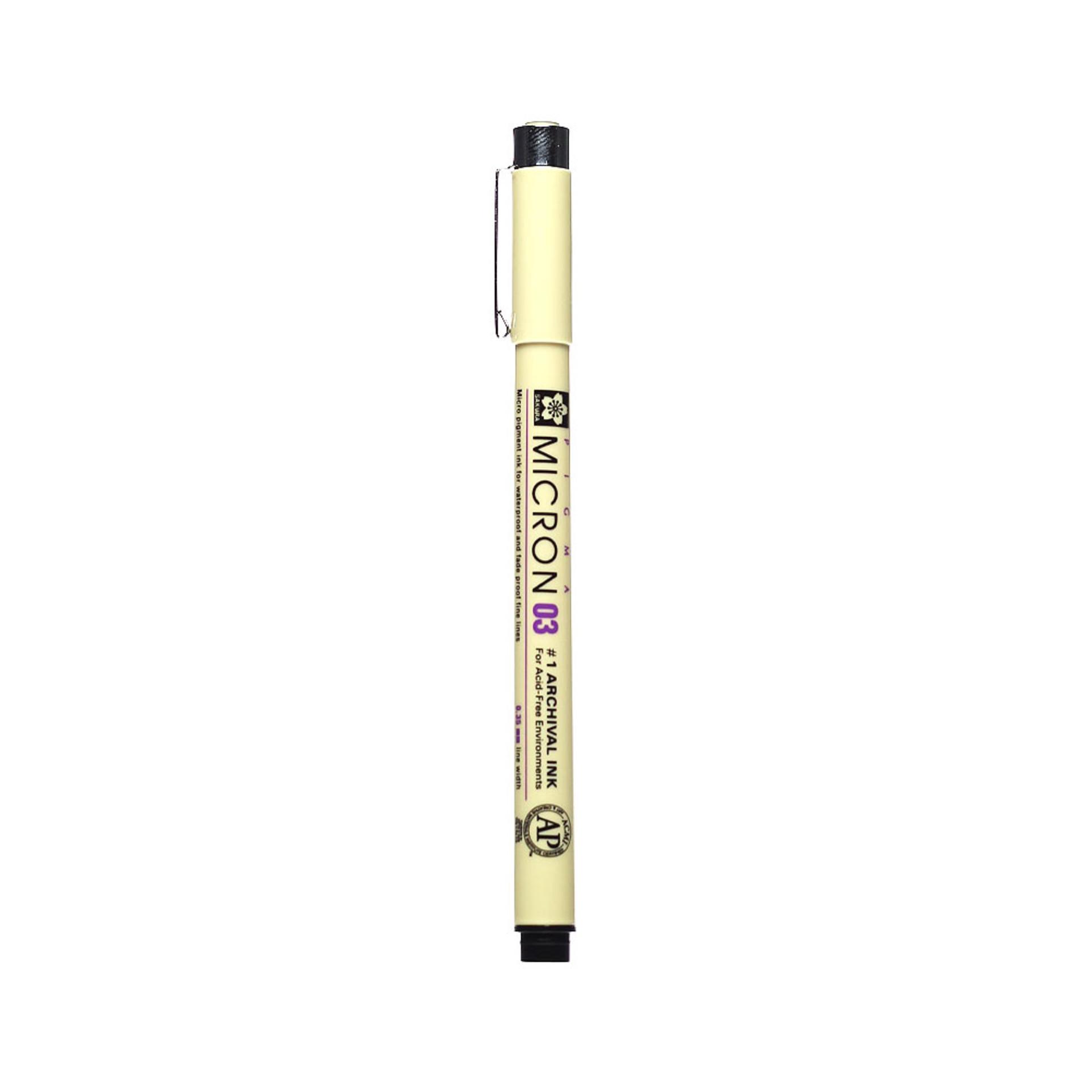 Sakura Pigma Micron 03 .35mm Pen – Black