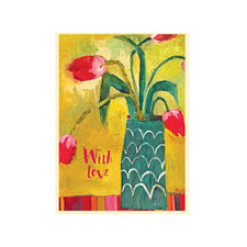 Santa Fe Tulips Greeting Card