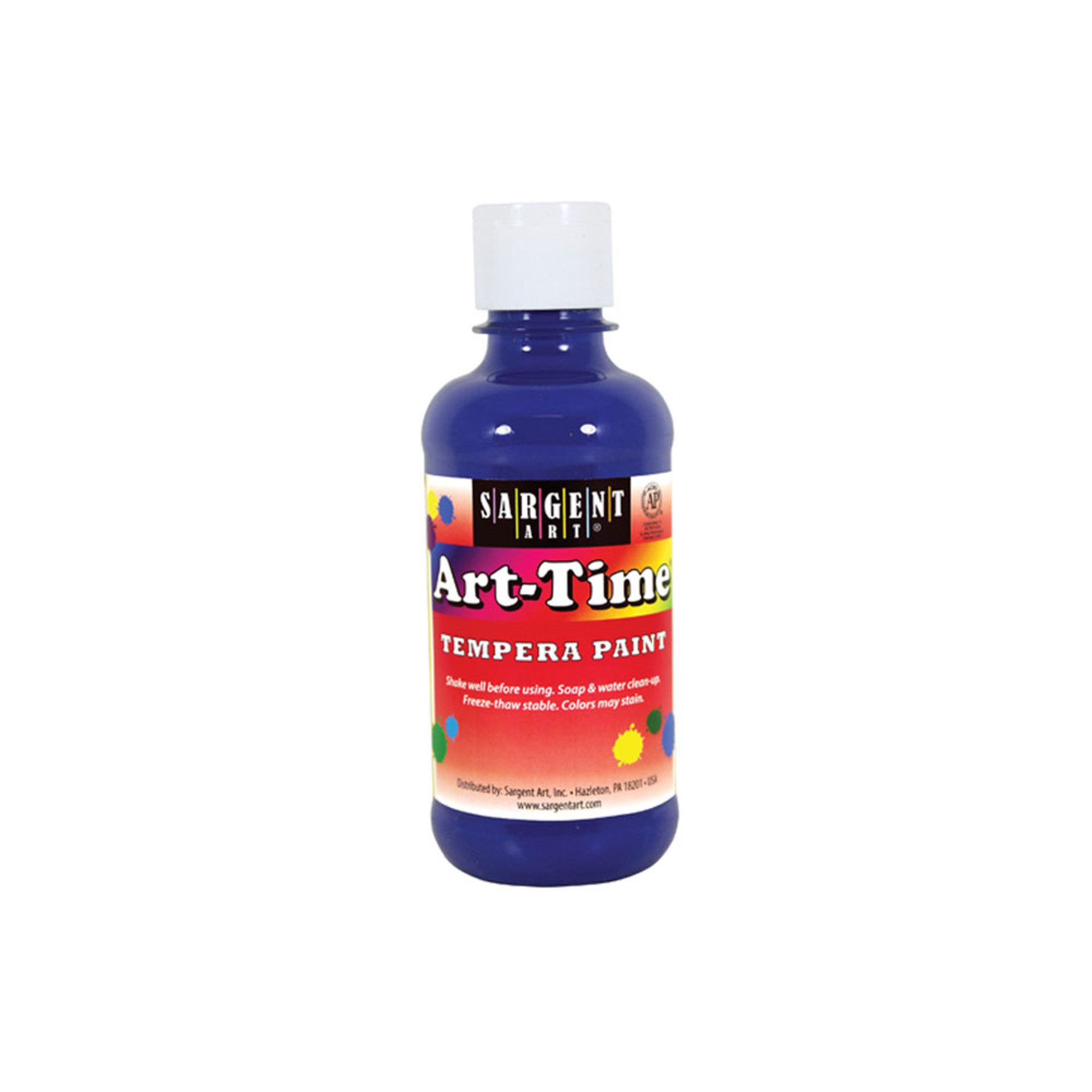 Sargent Art Time 8oz. Tempera Paint – Blue