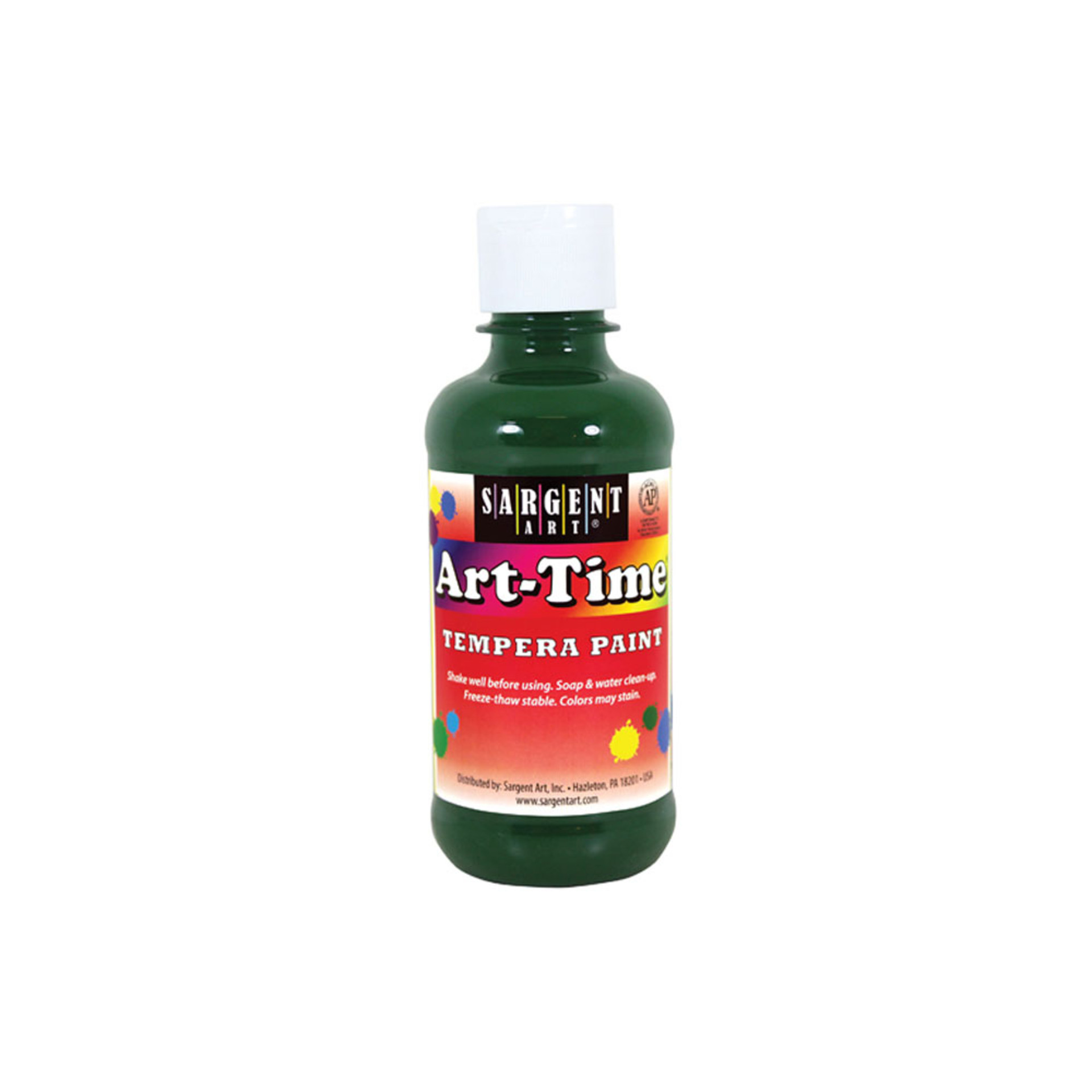 Sargent Art Time 8oz. Tempera Paint – Green