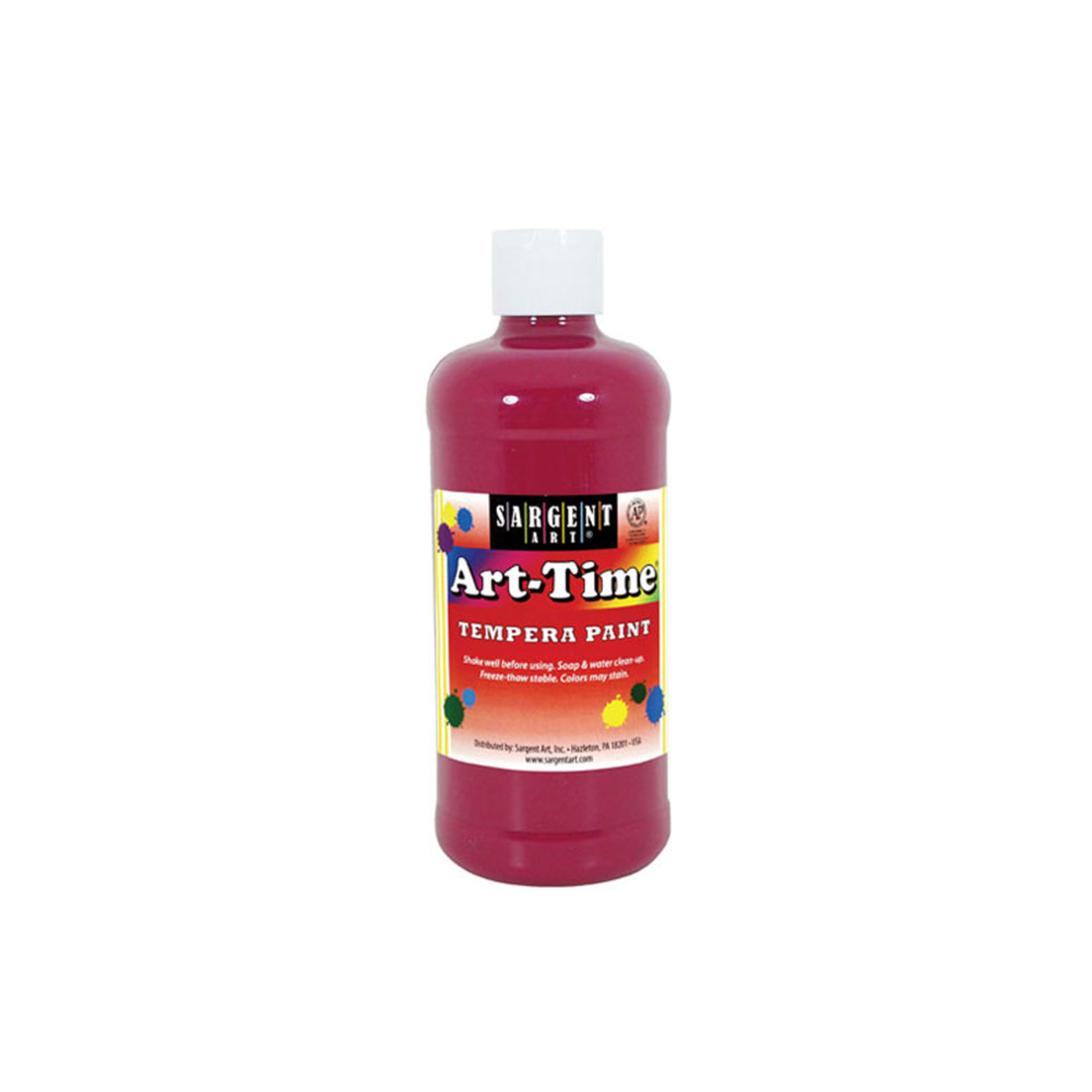Sargent Art Time 8oz. Tempera Paint – Magenta