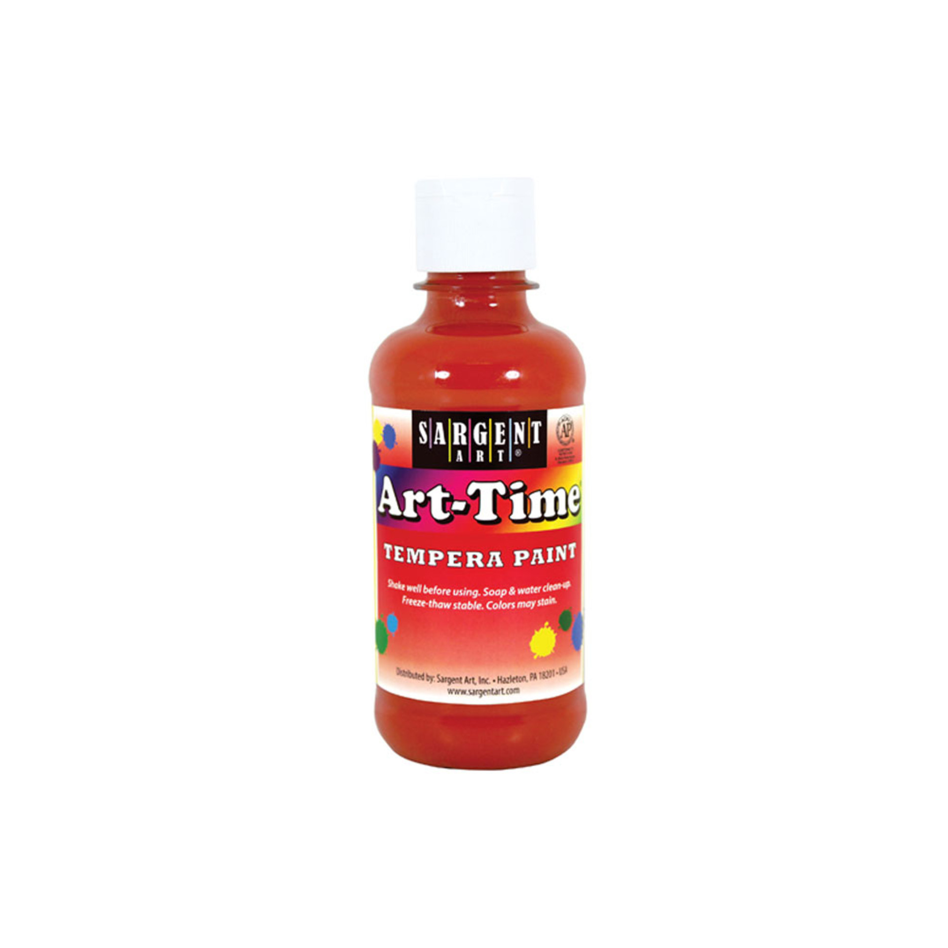 Sargent Art Time 8oz. Tempera Paint – Orange