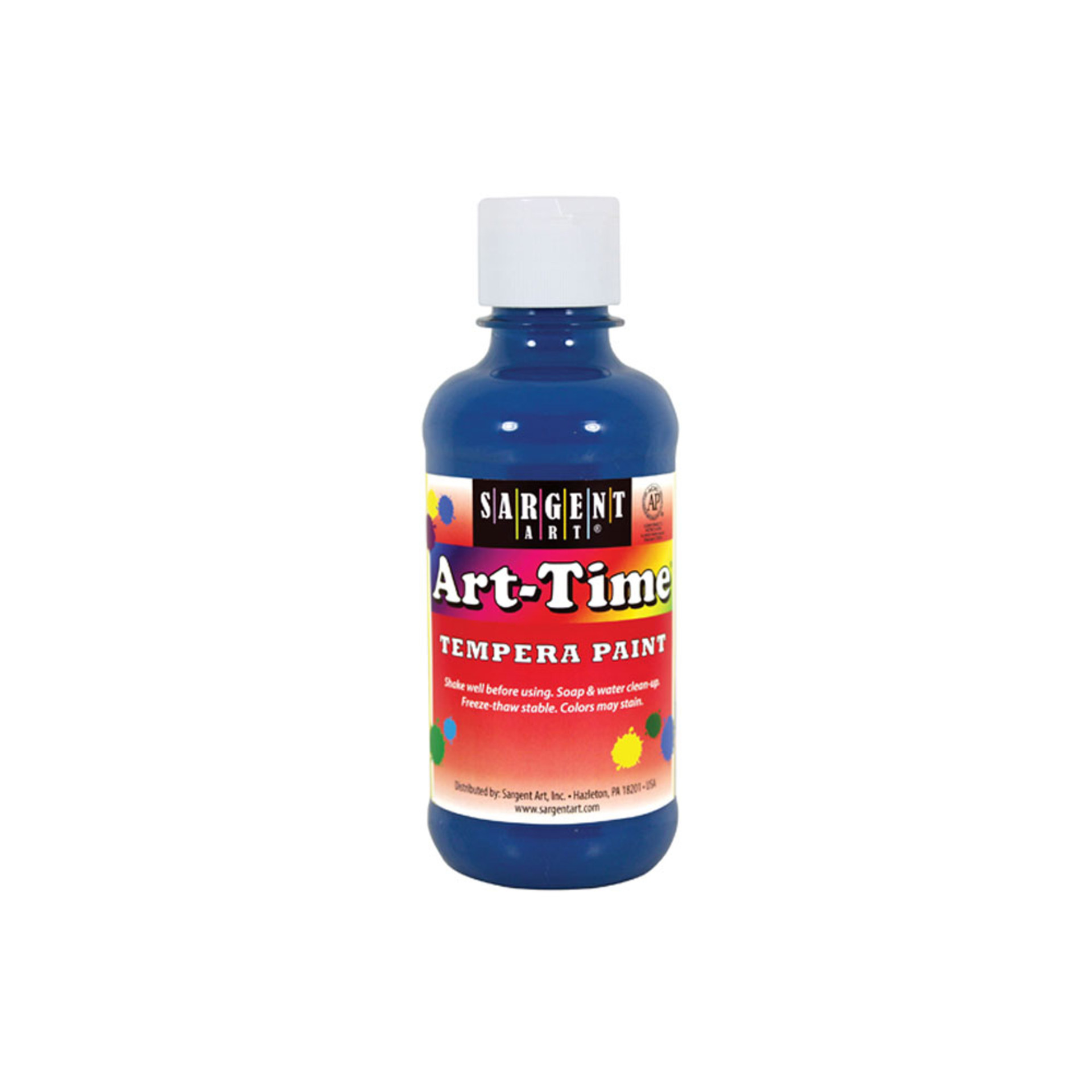 Sargent Art Time 8oz. Tempera Paint – Turquoise