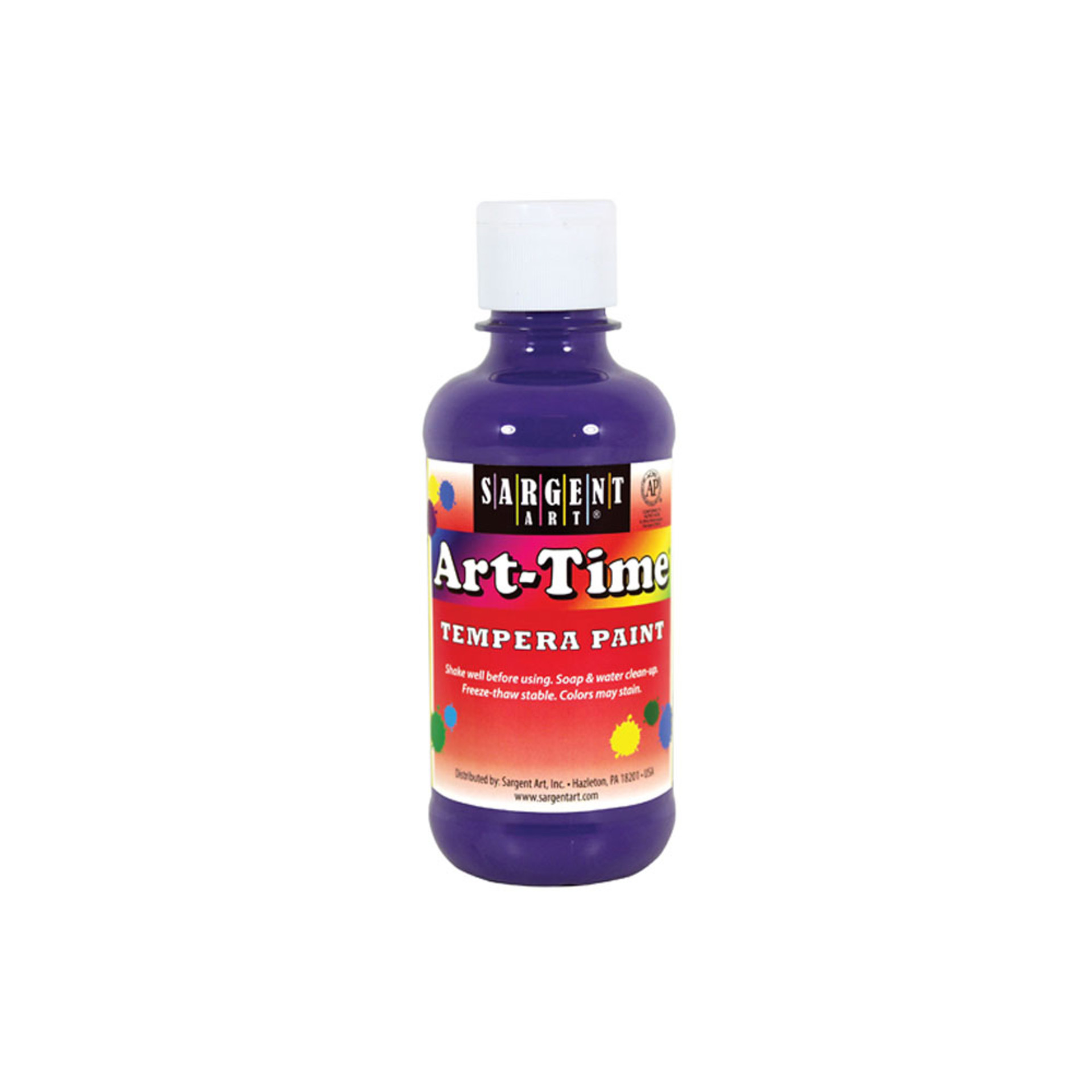 Sargent Art Time 8oz. Tempera Paint – Violet