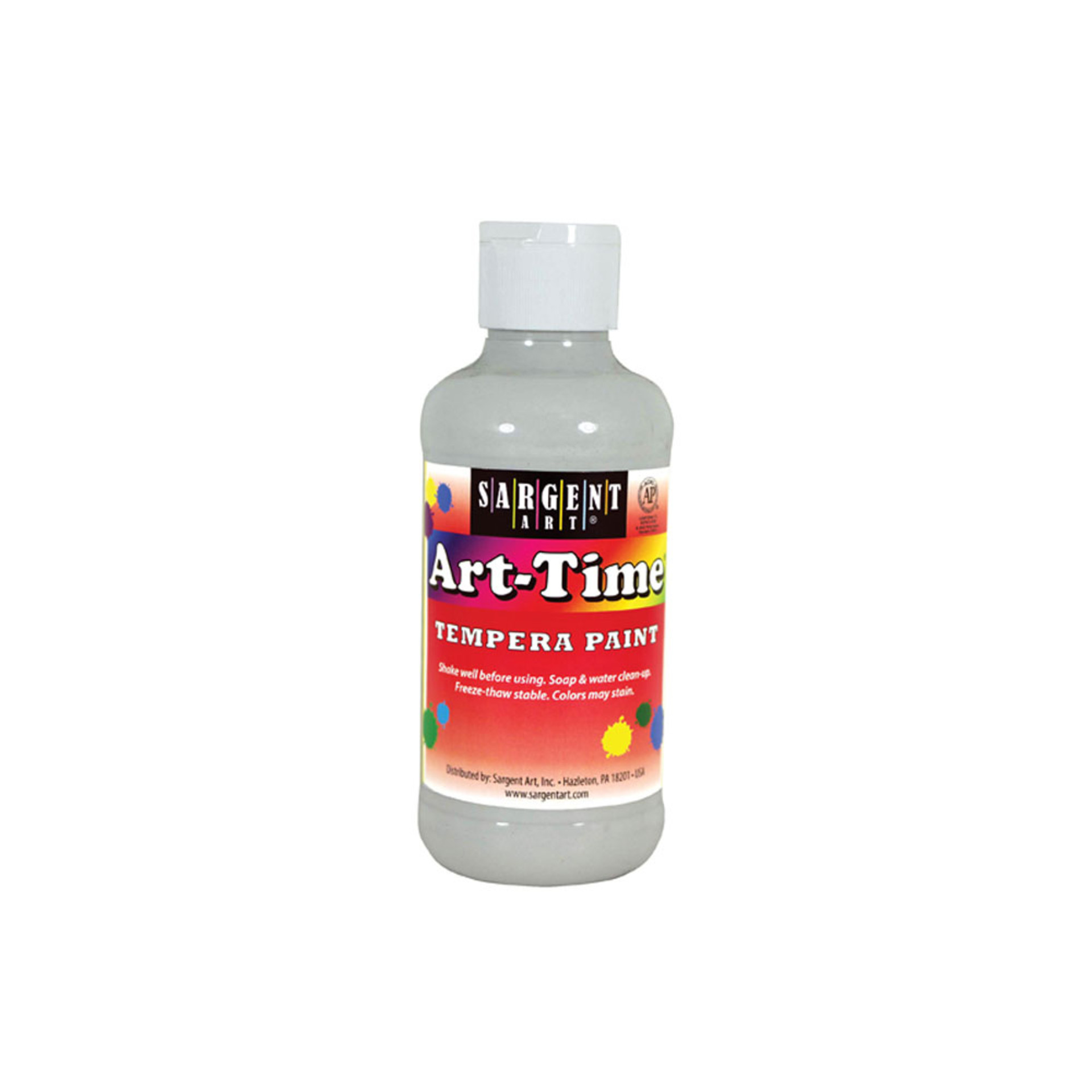 Sargent Art Time 8oz. Tempera Paint – White
