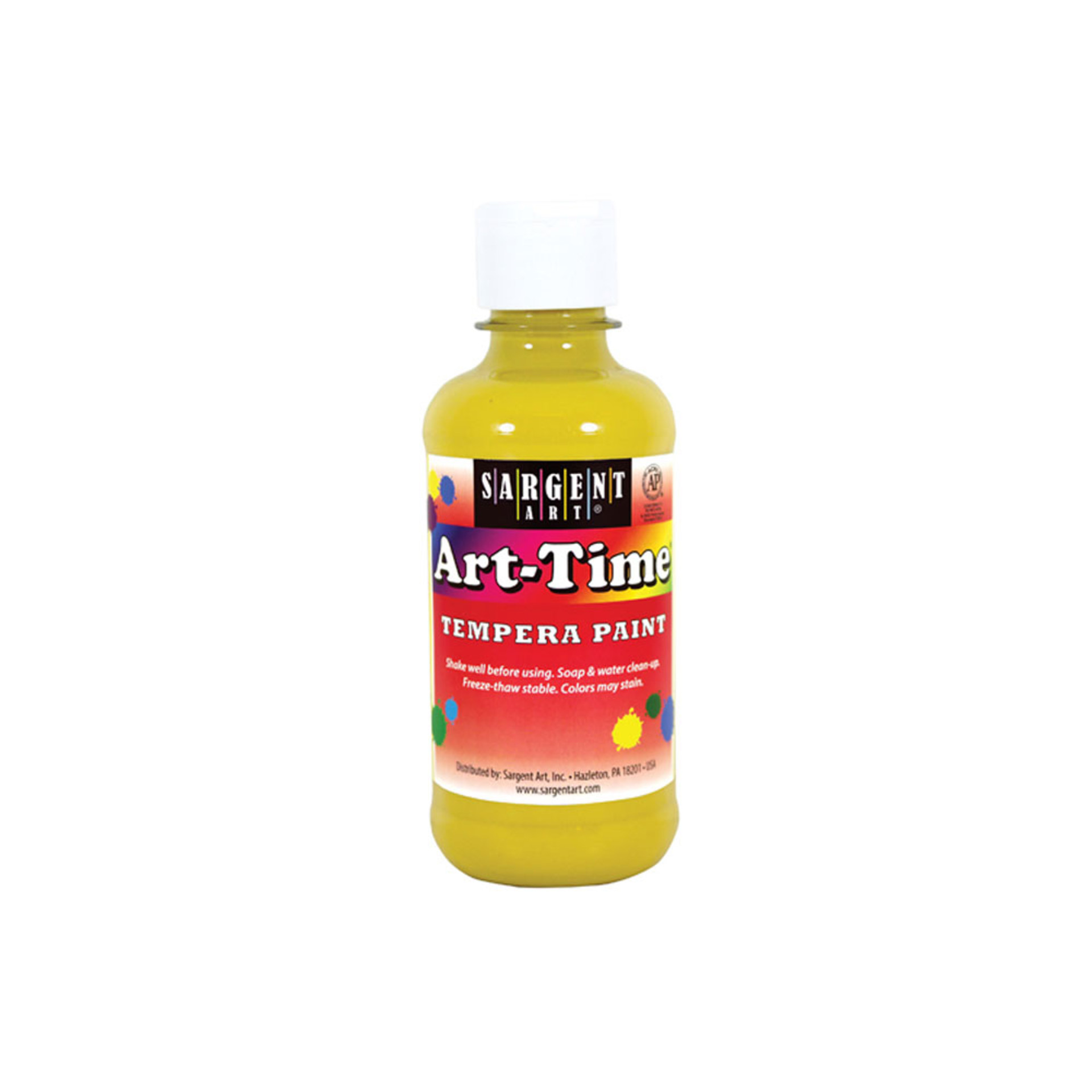 Sargent Art Time 8oz. Tempera Paint – Yellow