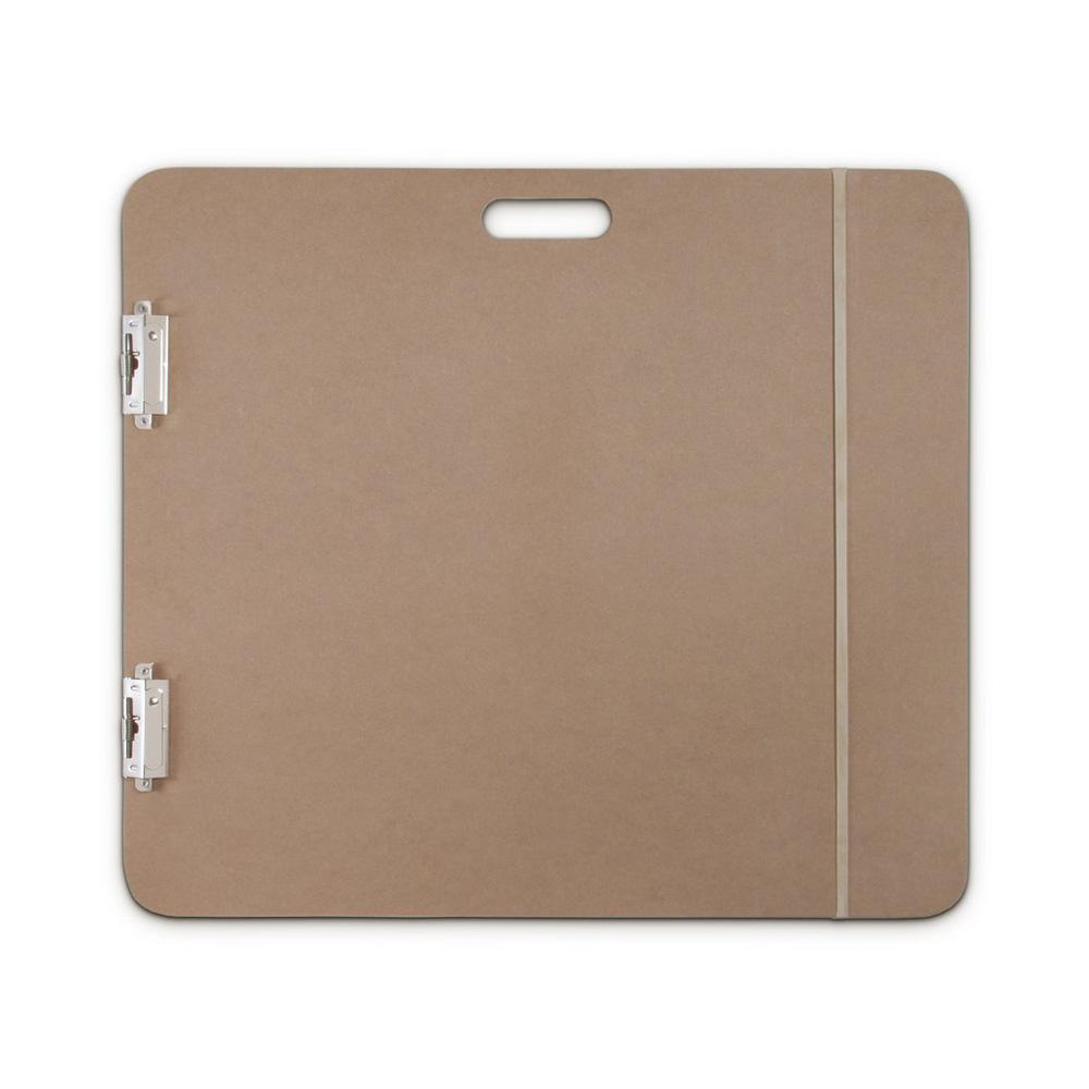 "Saunders 23""x26"" Fiberboard Artist Sketchboard With 2 Clips"