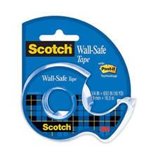 "Scotch Clear 3/4""x650"" Wall Safe Tape"