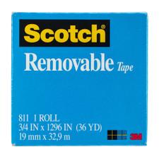 "Scotch Matte 3/4""x36yd Removable Magic Tape"
