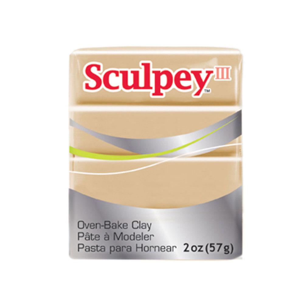 Sculpey III Oven Bake Clay Tan