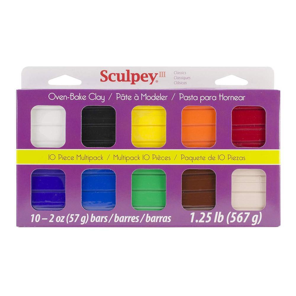 Sculpey III Clay Classic 10 Piece Set