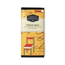 Seattle Chocolates Whole Milk Chocolate Truffle Bar