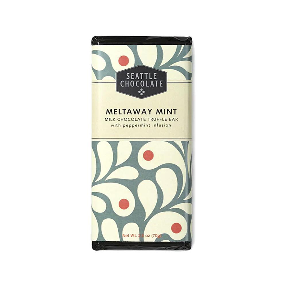 Seattle Chocolates Distilled Mint Truffle Bar