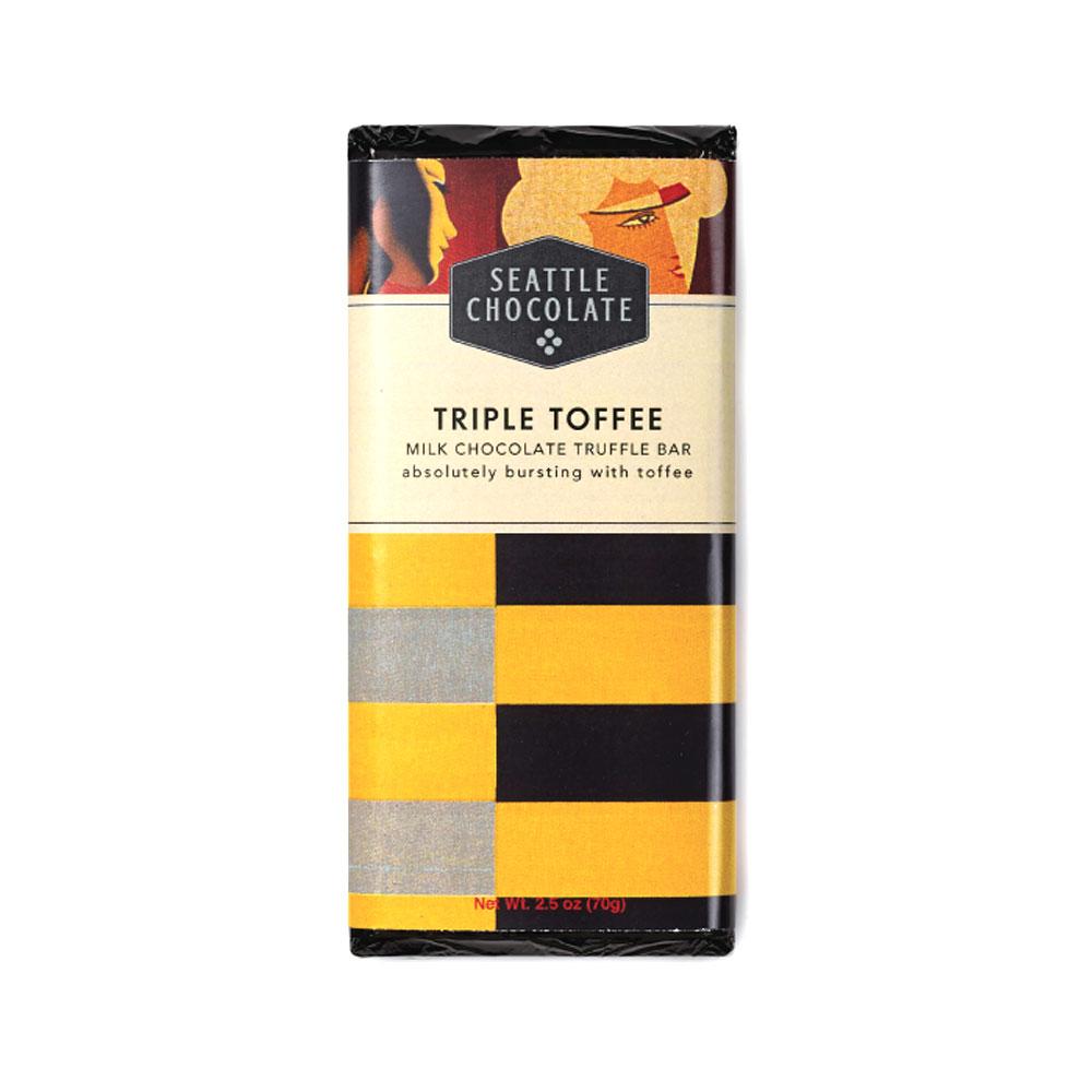 Seattle Chocolates Triple Toffee Truffle Bar