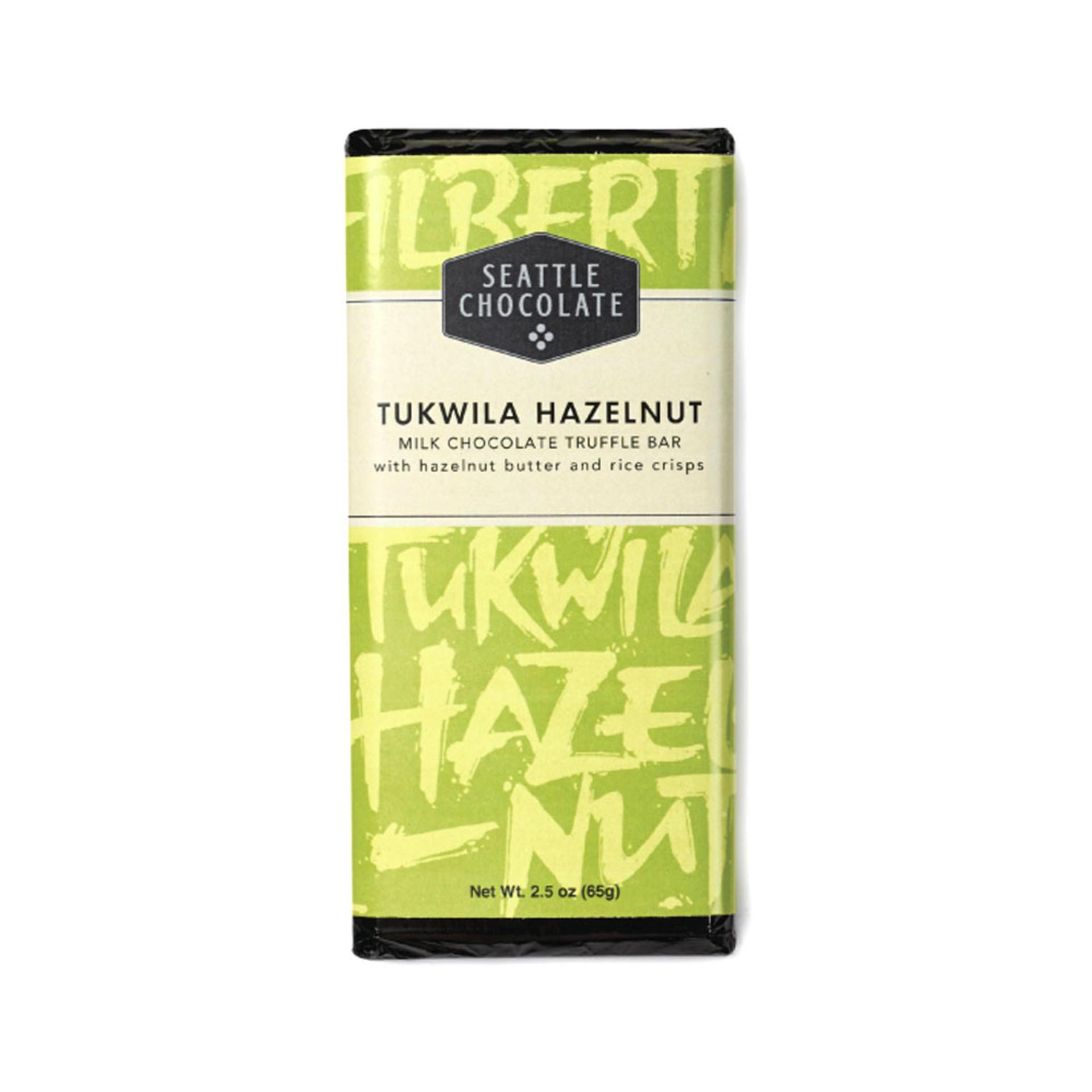 Seattle Chocolates Tukwila Hazelnut Bar