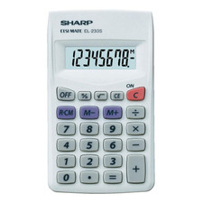 Sharp EL-233SB Calculator