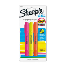 Sharpie Accent Gel Assorted Color Highlighters 3 Count