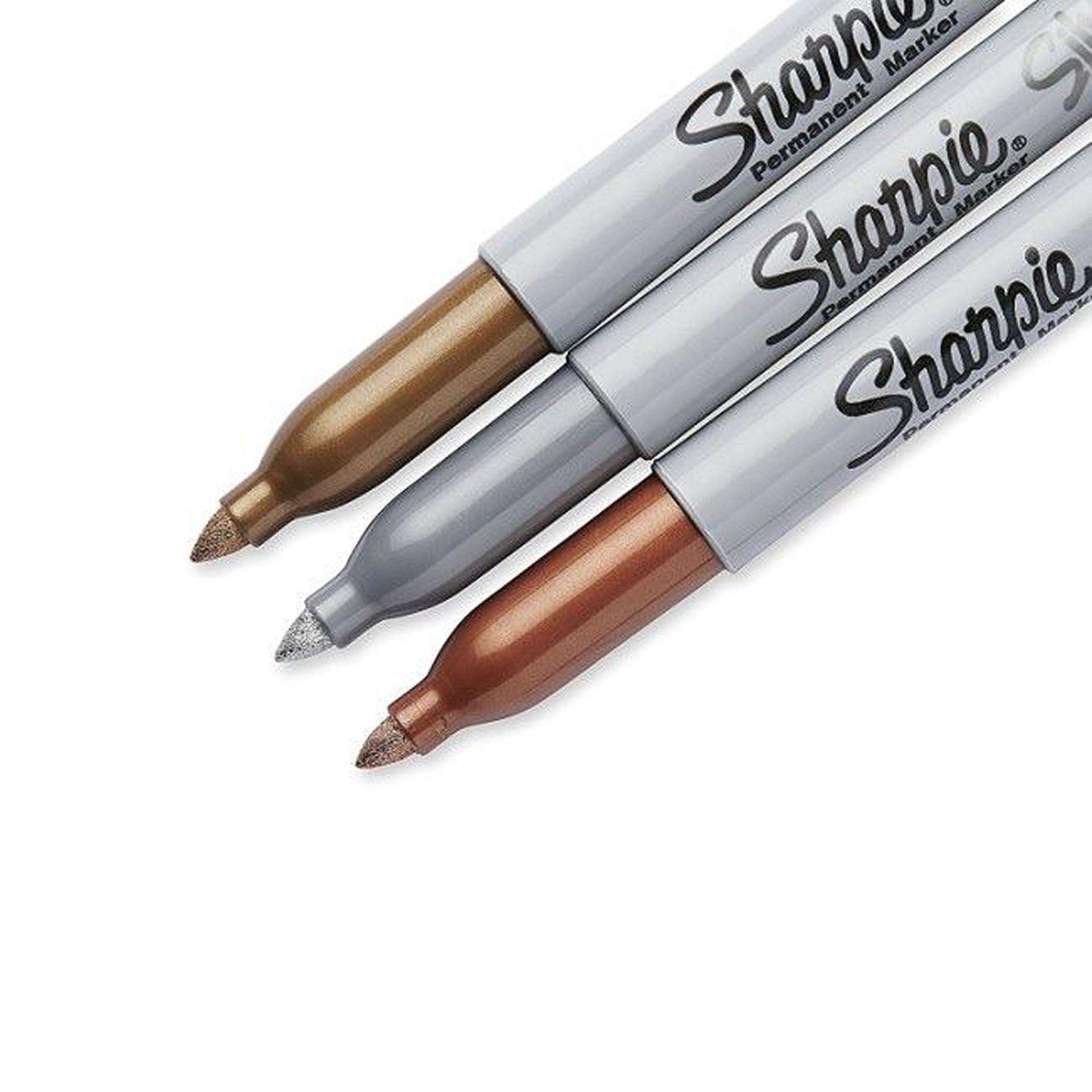 Sharpie Fine-Tip Metallic Markers