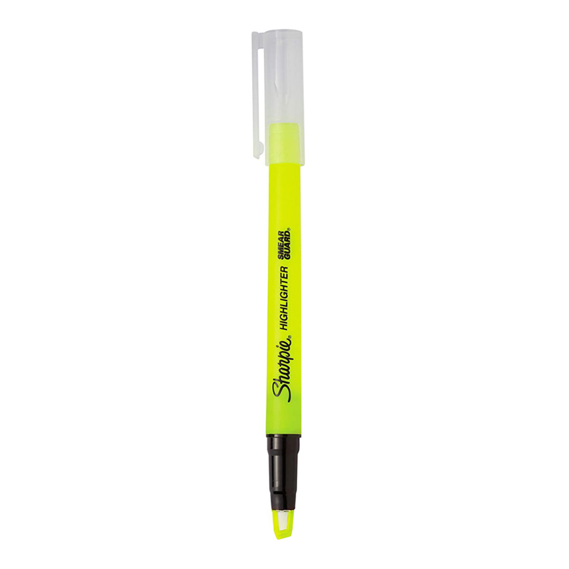 Sharpie Clear View Stick Highlighter Fluorescent Yellow