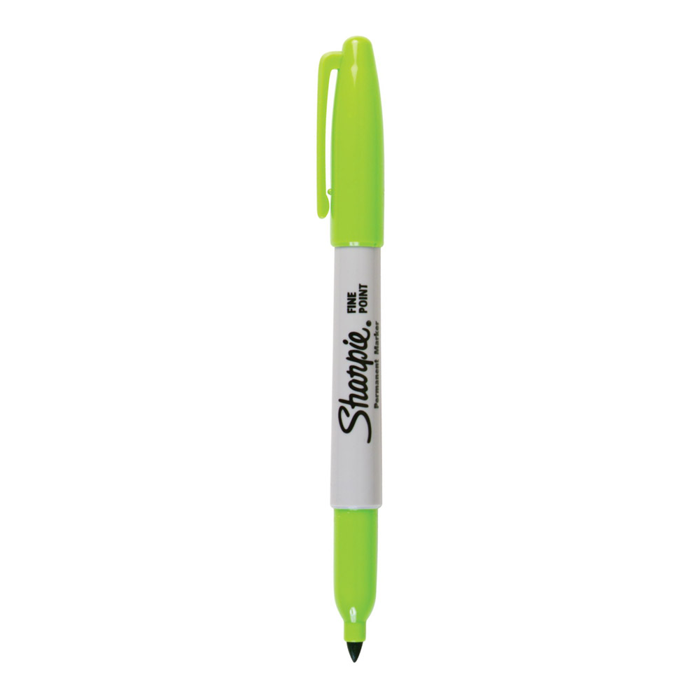 Sharpie Fine Point Permanent Marker Lime