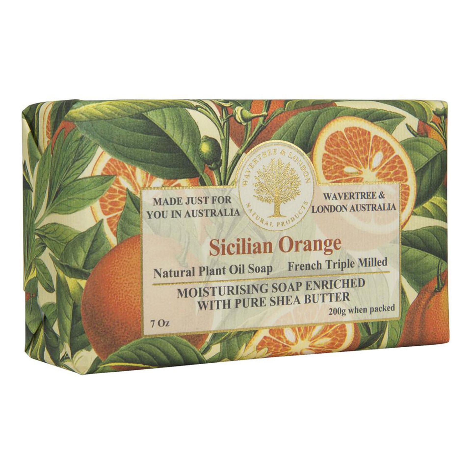 Sicilian Orange Bar Soap