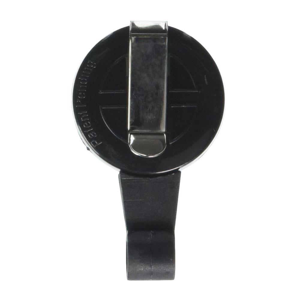Sicurix Black Premium No Twist Badge Reel Back