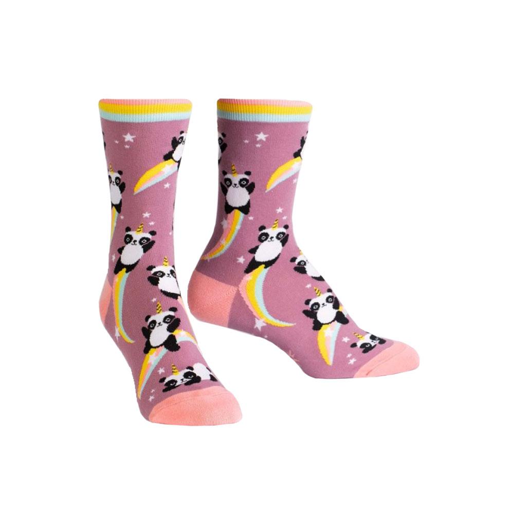 Sock It To Me Pandacorn Crew Socks