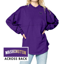 Spirit Jersey W Washington Ombre Original Crew Neck