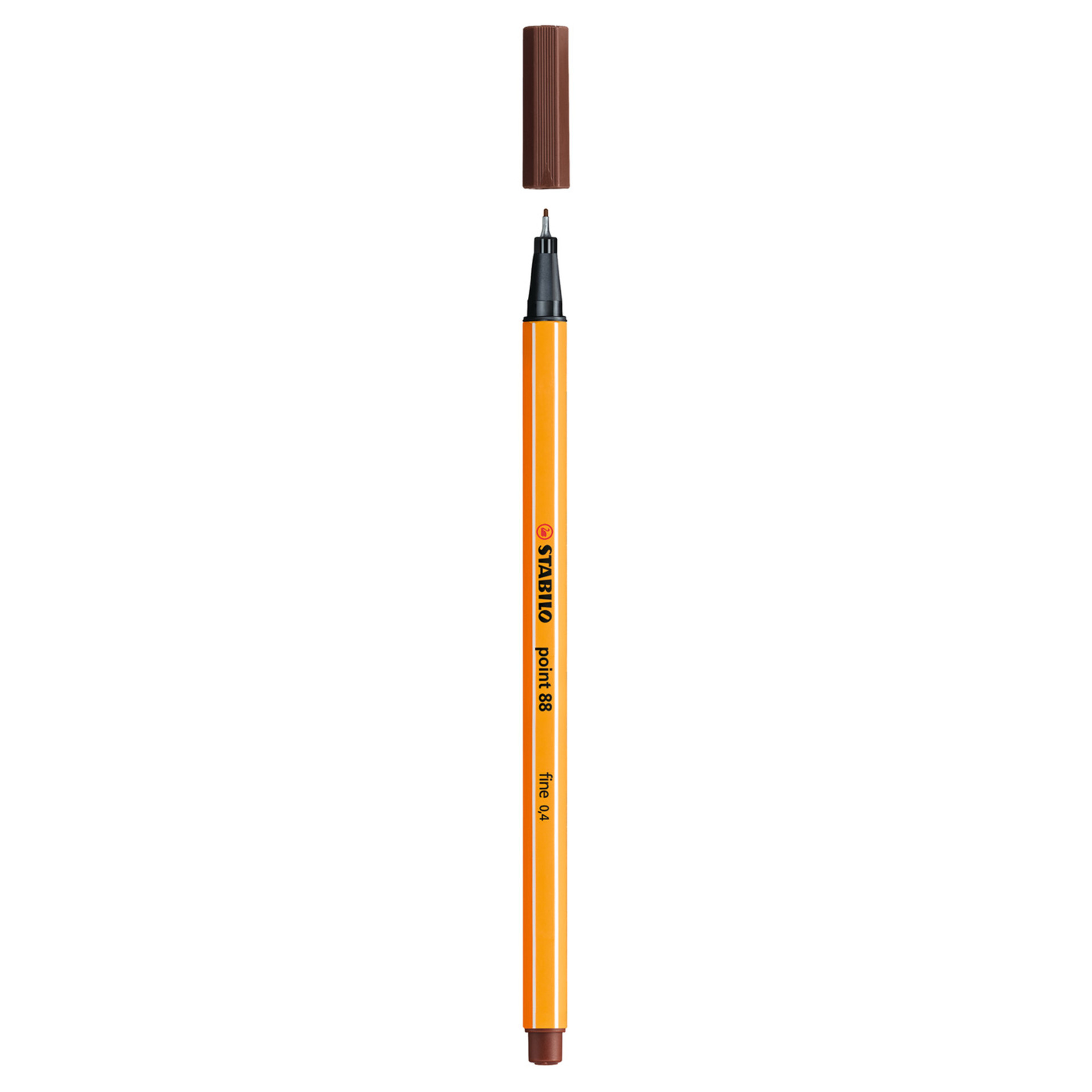 Stabilo Point 88 .4mm Fineliner Pen – Brown