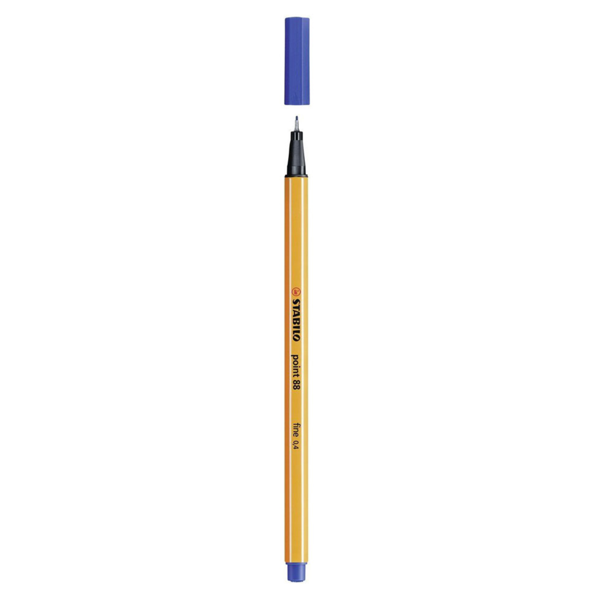 Stabilo Point 88 .4mm Fineliner Pen – Dark Blue