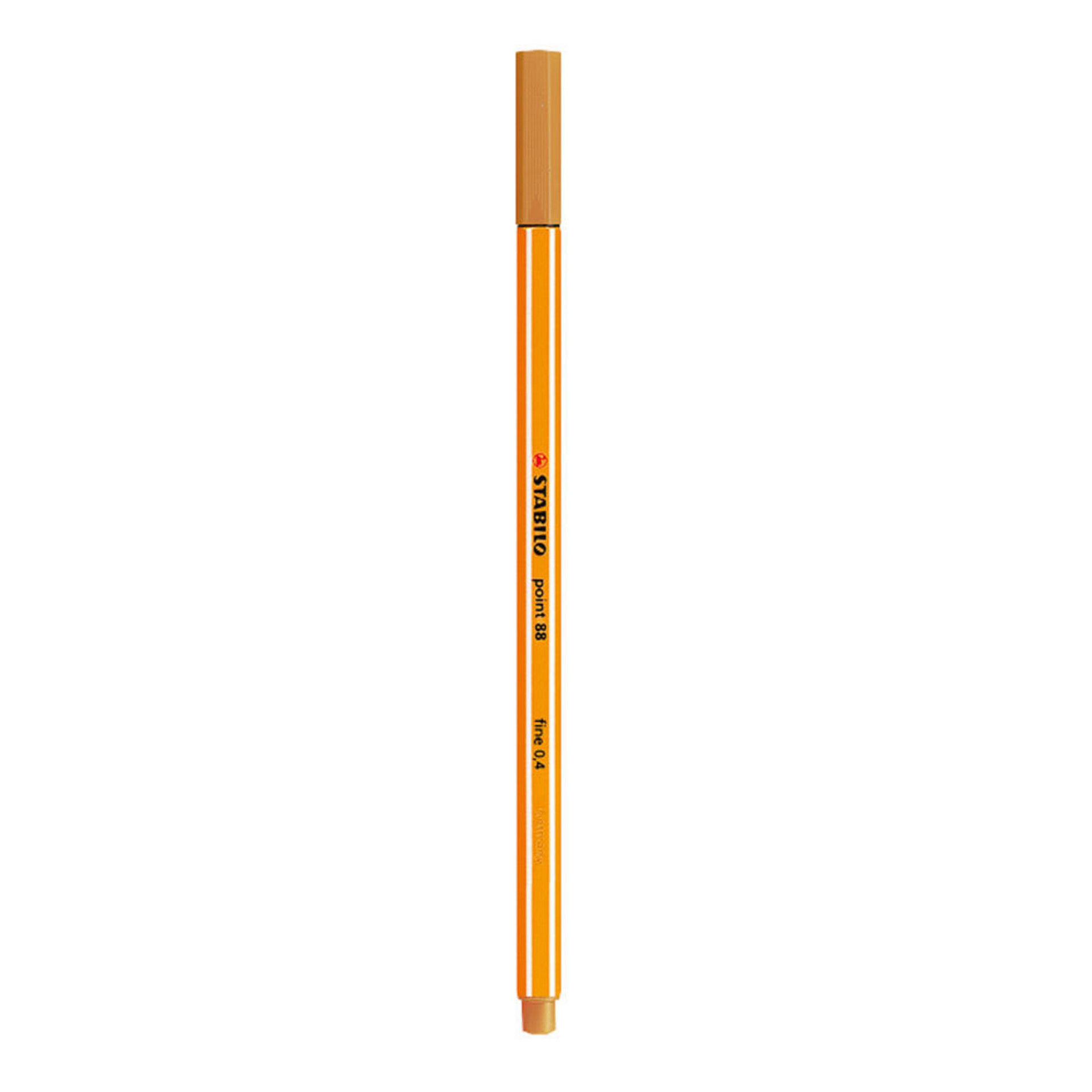 Stabilo Point 88 .4mm Fineliner Pen – Dark Ochre