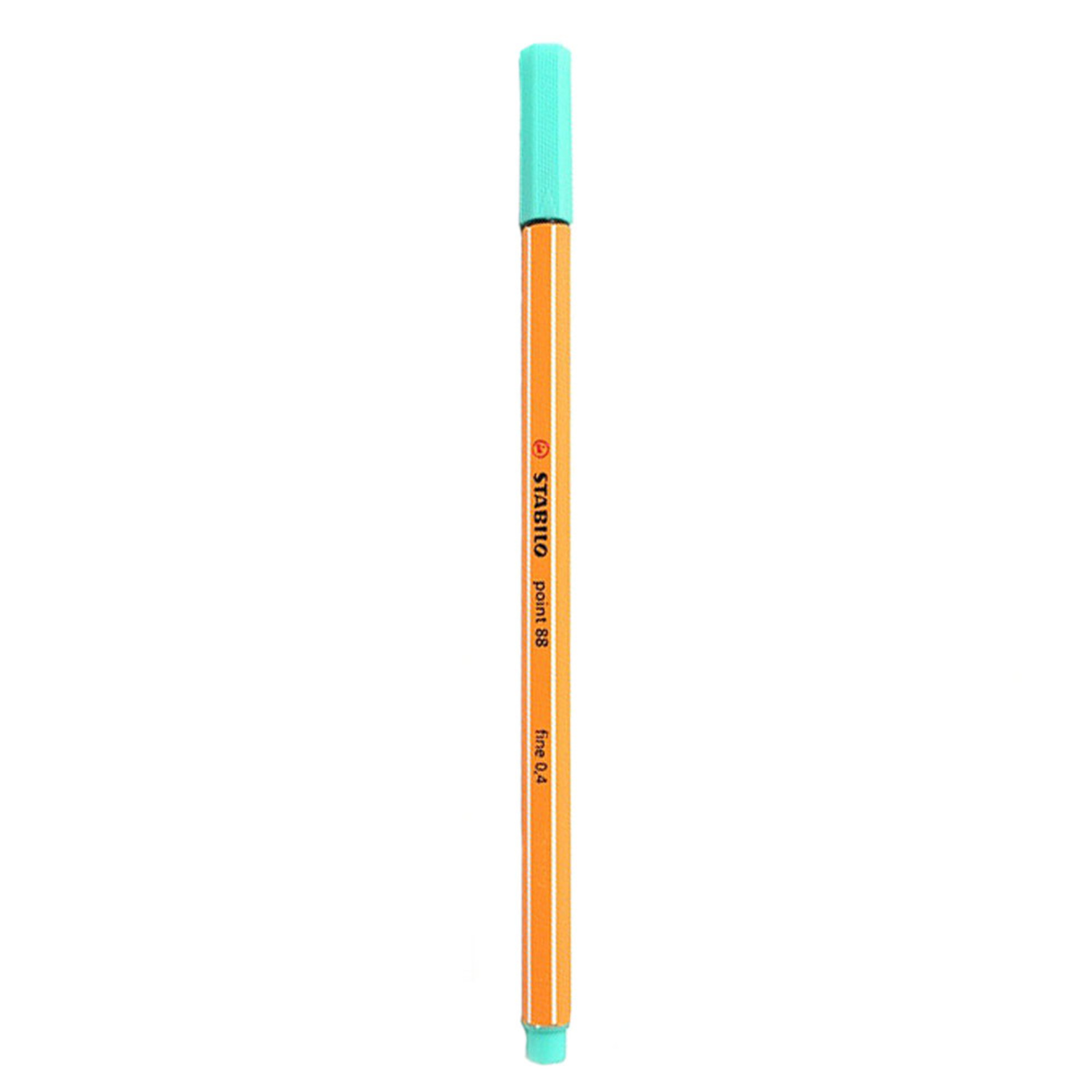 Stabilo Point 88 .4mm Fineliner Pen – Ice Green