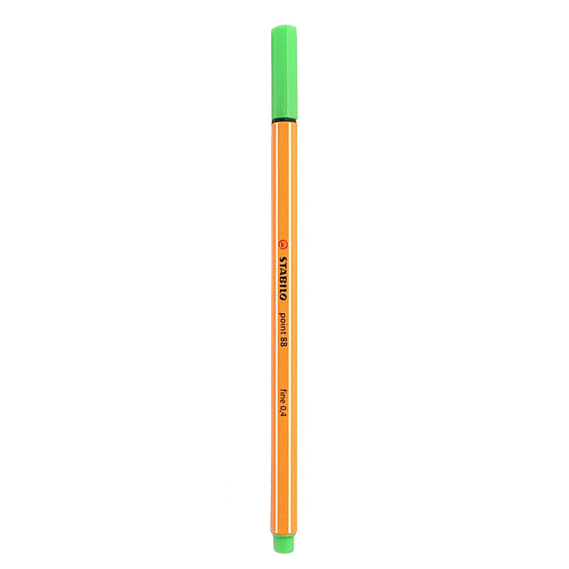 Stabilo Point 88 .4mm Fineliner Pen – Leaf Green