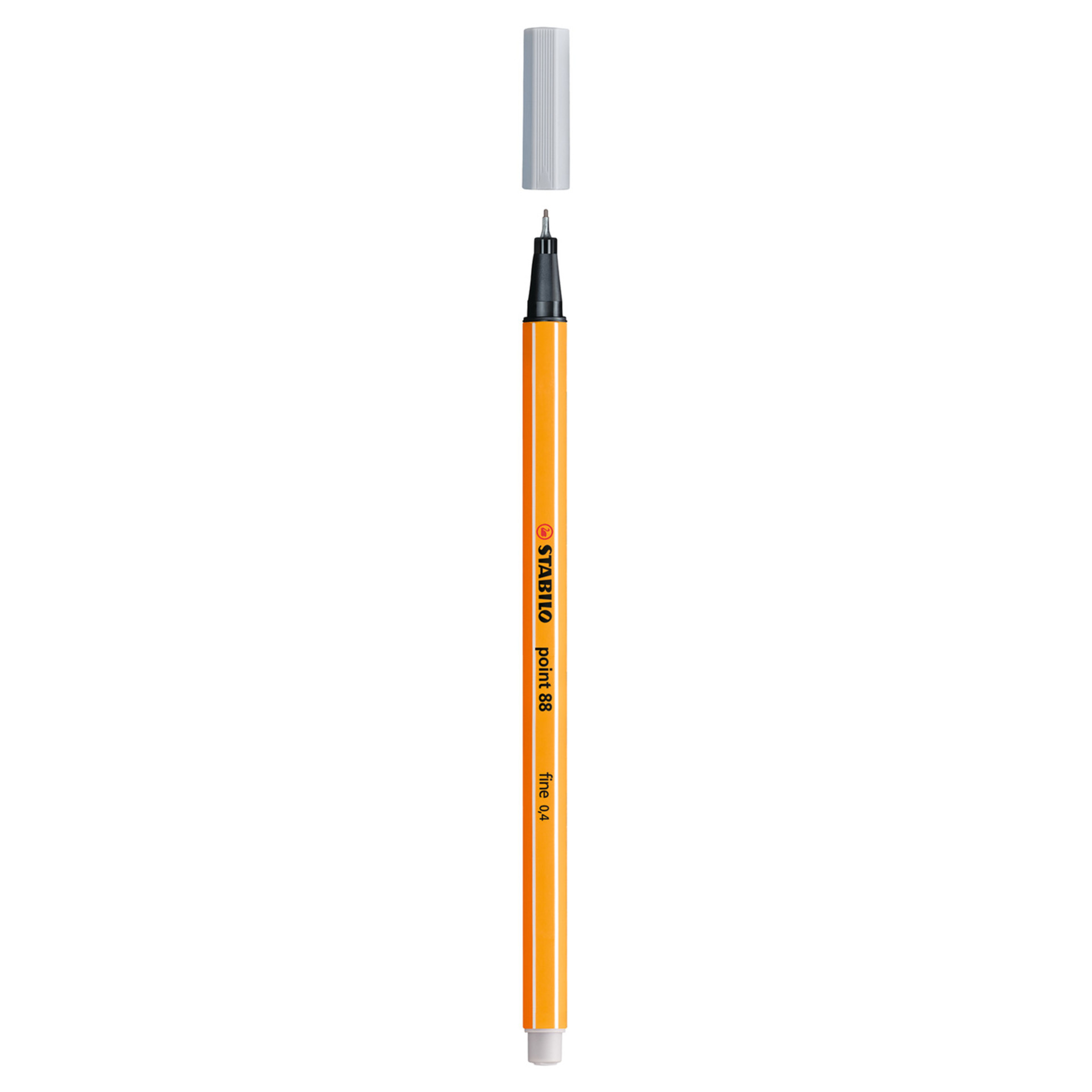 Stabilo Point 88 .4mm Fineliner Pen – Light Gray
