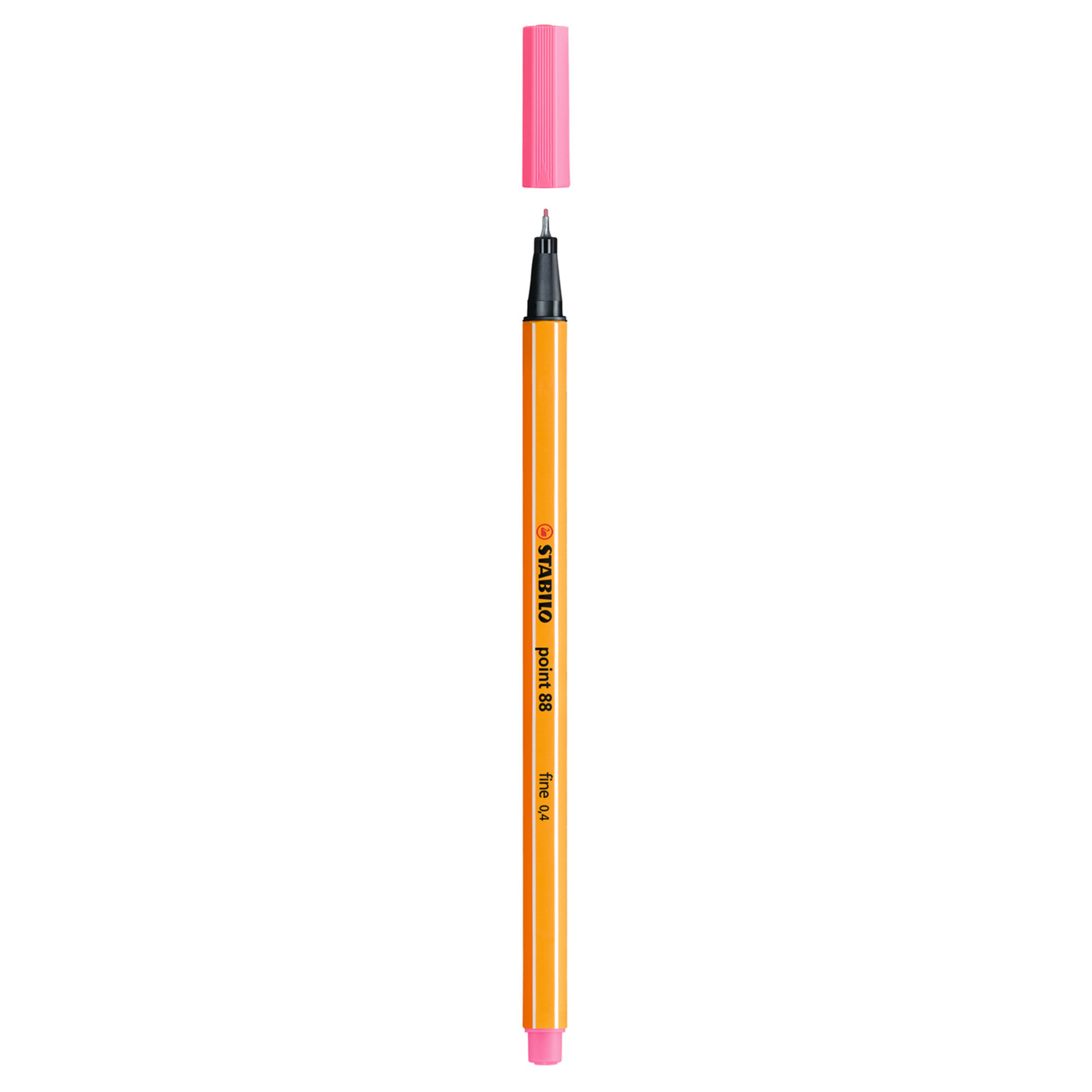 Stabilo Point 88 .4mm Fineliner Pen – Light Pink