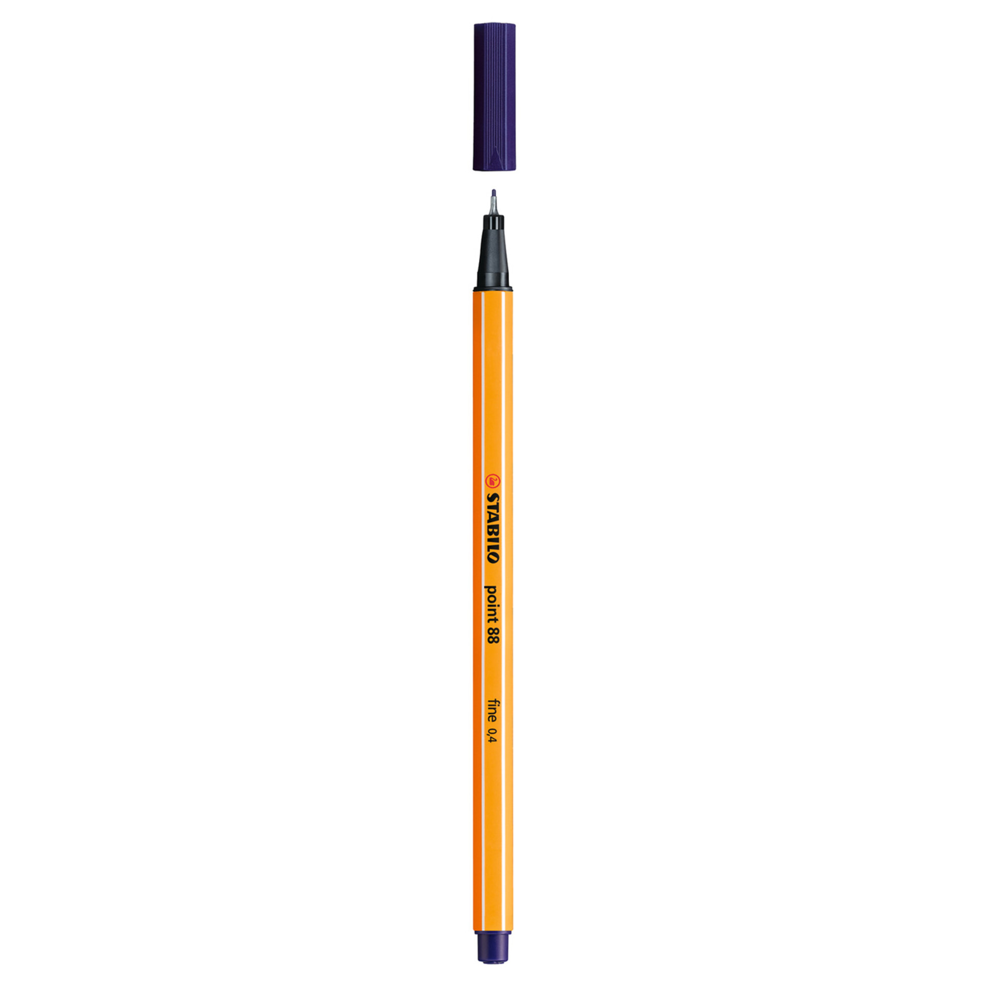 Stabilo Point 88 .4mm Fineliner Pen – Midnight Blue