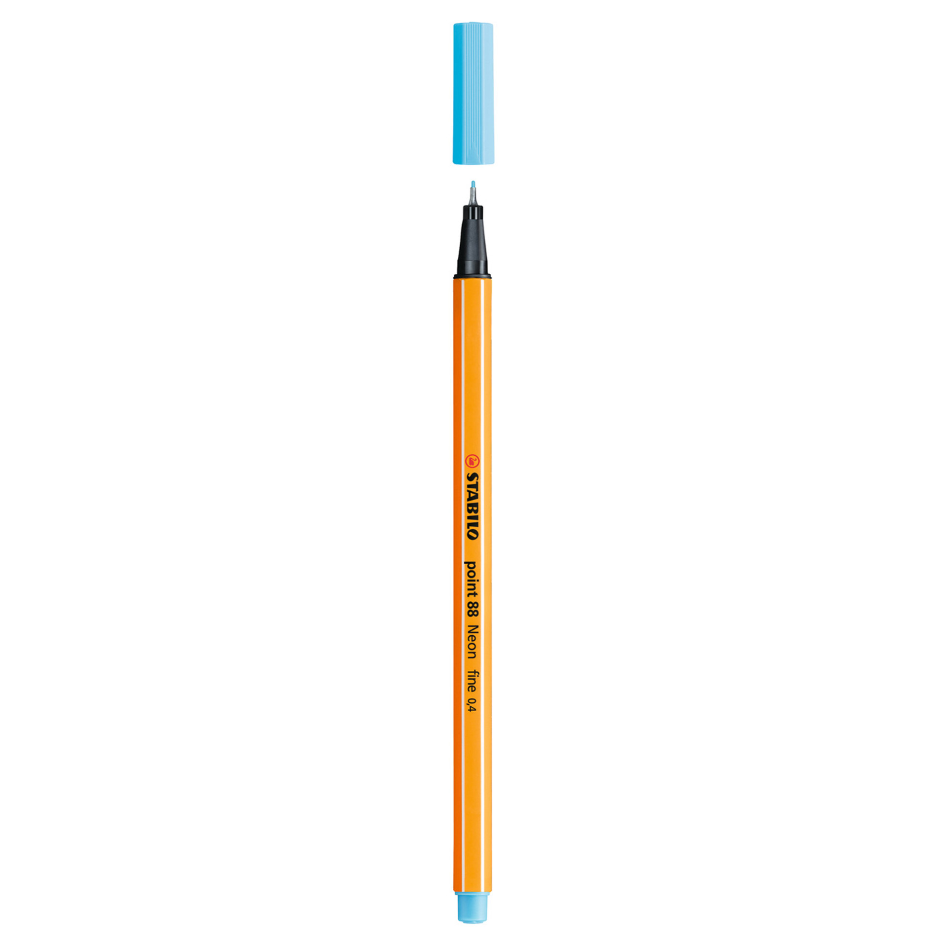 Stabilo Point 88 .4mm Fineliner Pen – Neon Blue