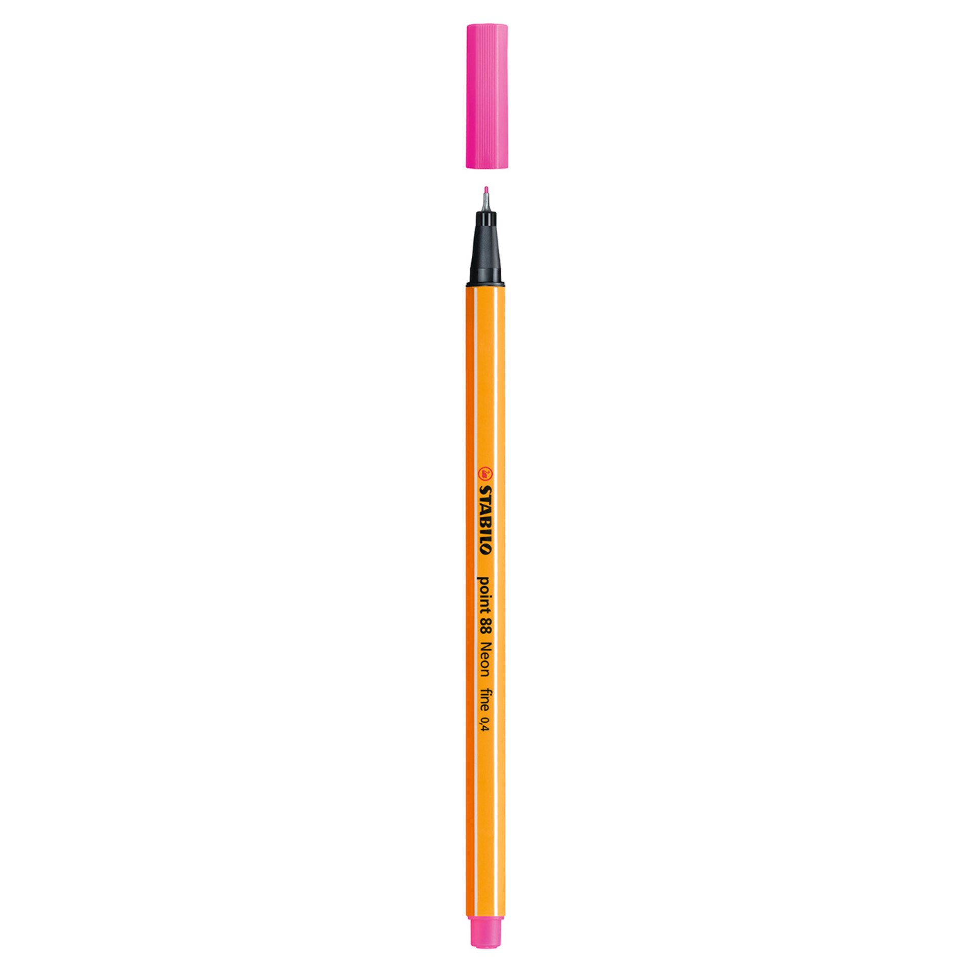 Stabilo Point 88 .4mm Fineliner Pen – Neon Pink