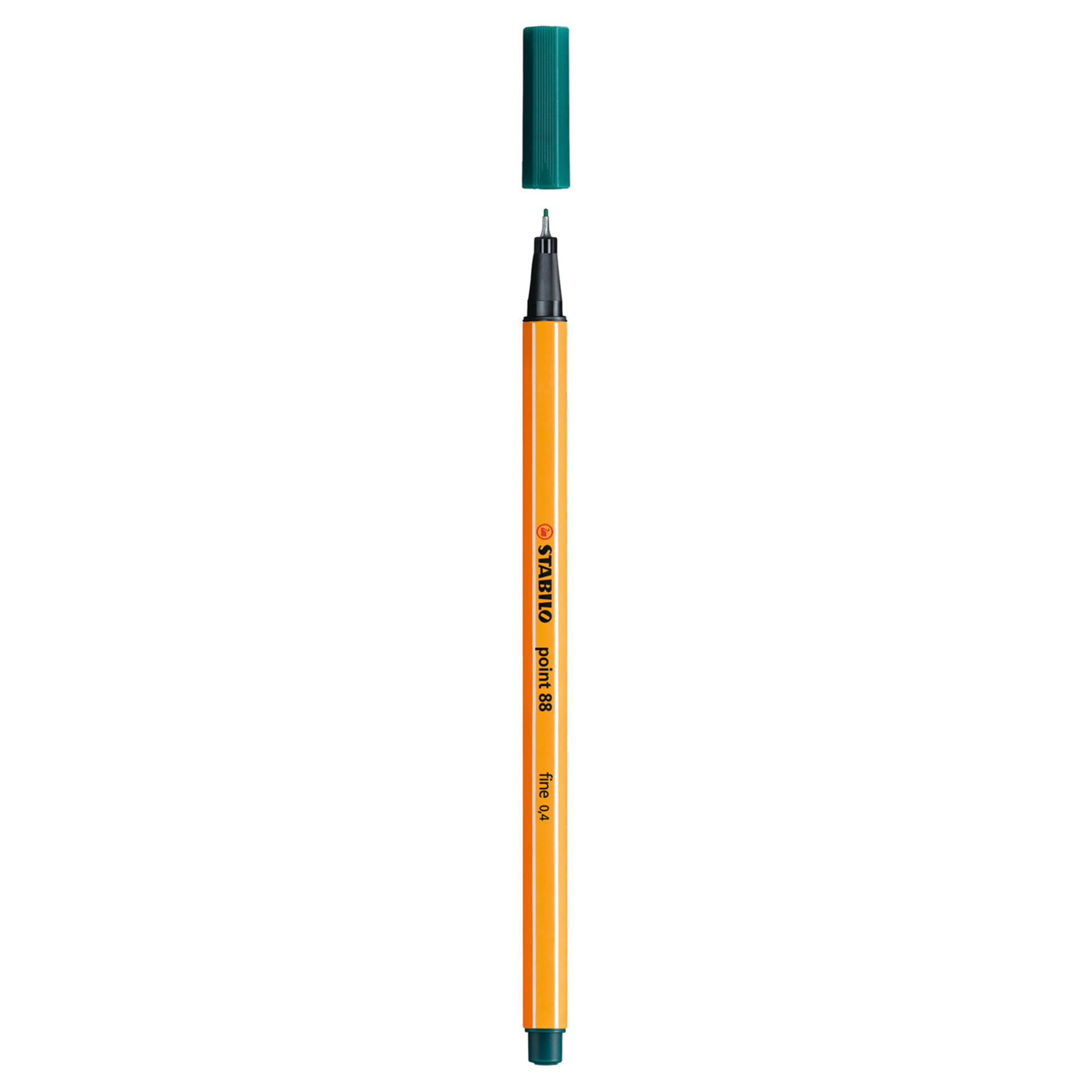 Stabilo Point 88 .4mm Fineliner Pen – Pine Green