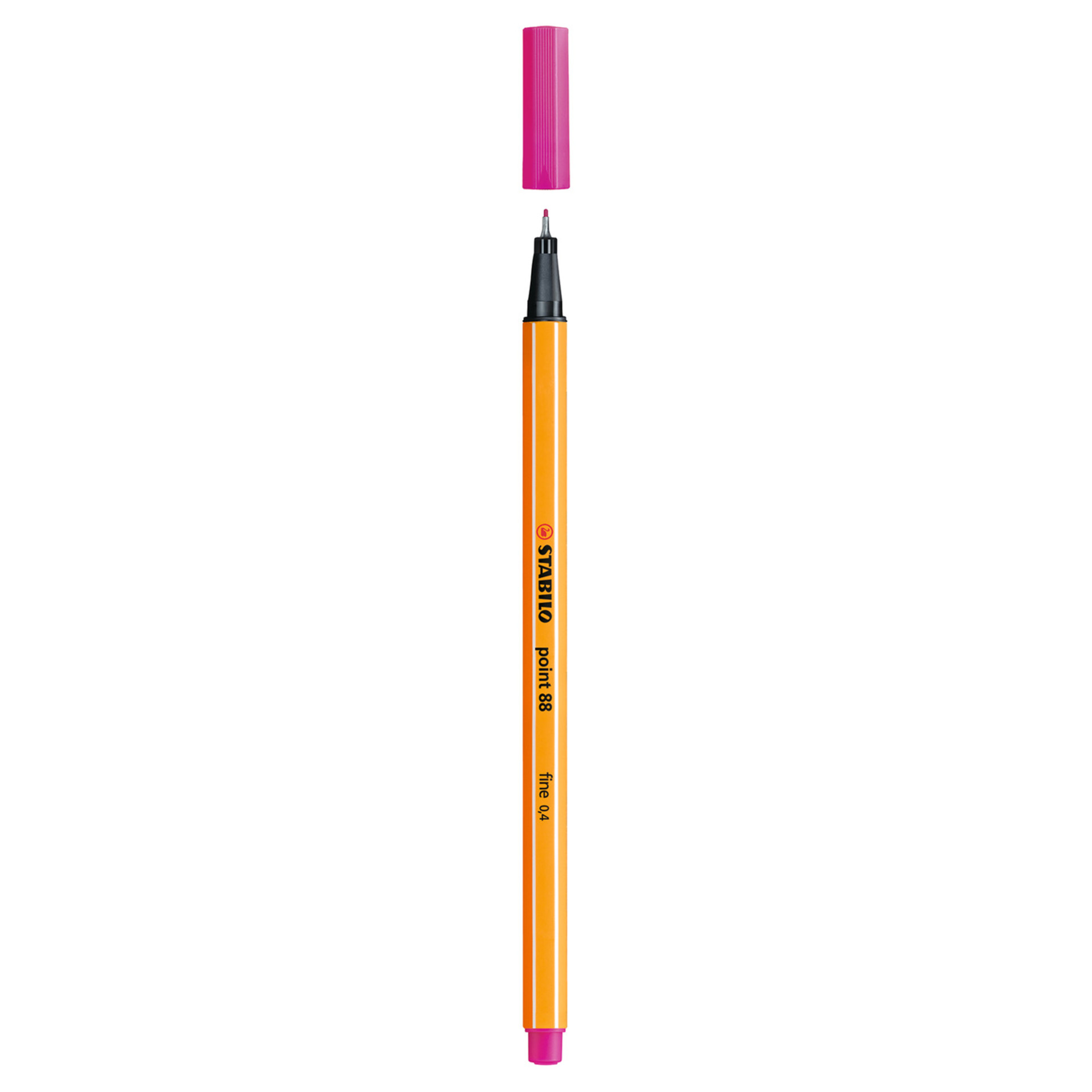 Stabilo Point 88 .4mm Fineliner Pen – Pink