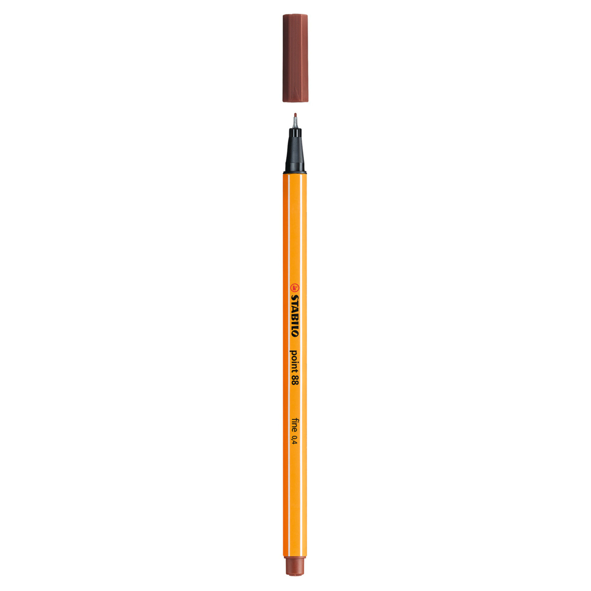 Stabilo Point 88 .4mm Fineliner Pen – Sienna