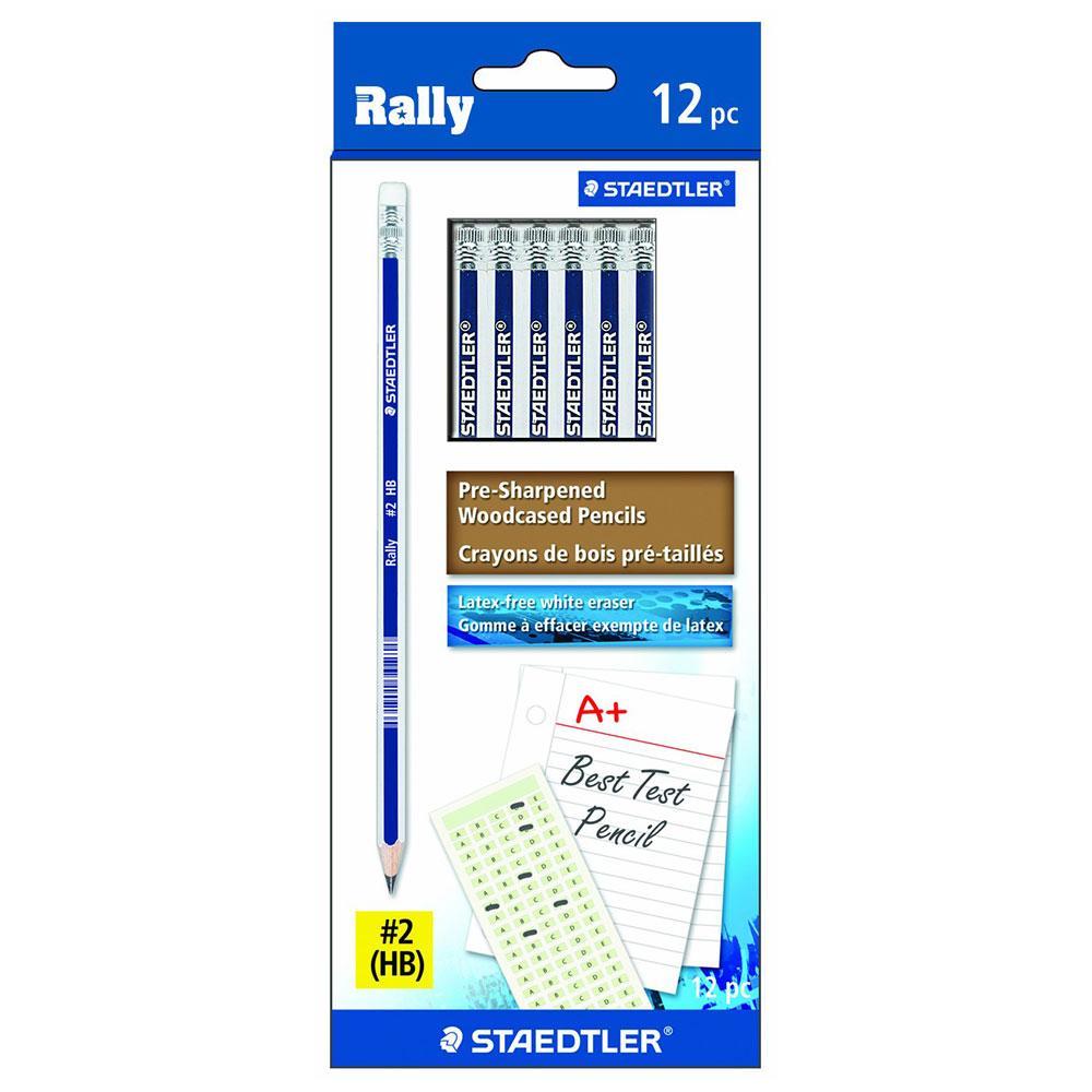 Staedtler Rally #2 HB Pencils 12 pack