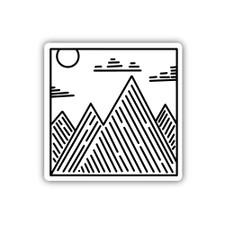 Stickers Northwest Mountain Peaks Sticker