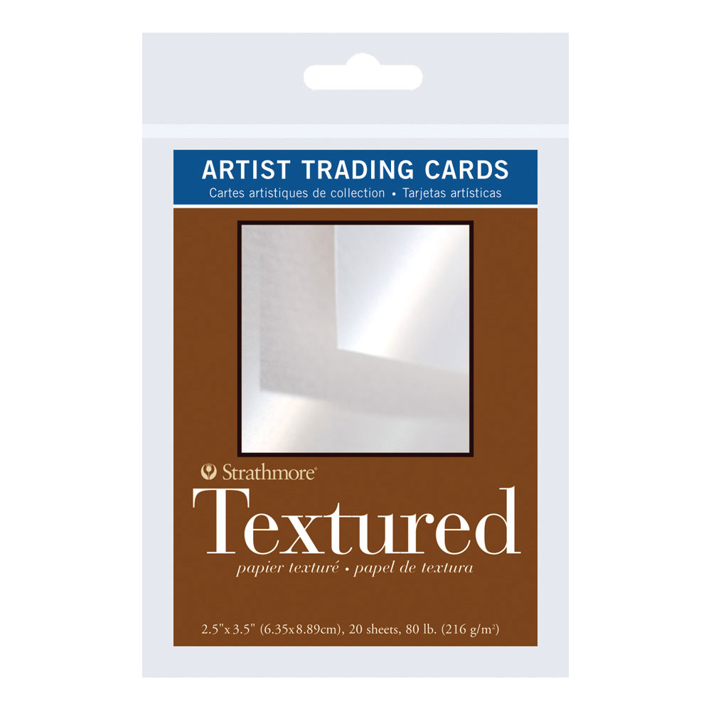 "Strathmore 2.5"" x 3.5"" Textured Artist Trading Cards 20 pack"